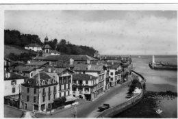 Ciboure Vue Generale Entrée Du Port - France
