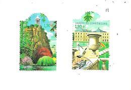 Jardins De France 3606-3607 Oblitérés 2003 - France
