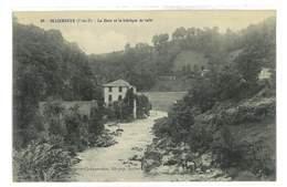CPA 63 OLLIERGUES LA DORE ET LA FABRIQUE DE TOILES - Olliergues