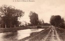 CPA - 56 - Le Canal Et L'écluse De Thymadeuc - Autres Communes