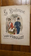 PARTITION  LA BOITEUSE POLKA POUR PIANO LEOPOLD GANGLOFF - Partitions Musicales Anciennes