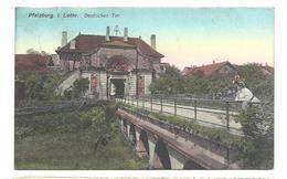 PFALZBURG - PHALSBOURG -  Deutsches Tor (colorisée) Vers 1917 - Phalsbourg