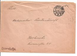 WO1 Kriegsgefangene.POW. Karlsruhe.Nationaler Frauendienst.Heeressache Berlin - 1. Weltkrieg