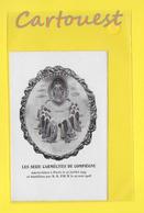 Image Pieuse Béatification Des SEIZES CARMELITES COMPIEGNE Martyrisées Paris 17 Juillet 1794 ( Coeur De JESUS ) Canivet - Devotion Images