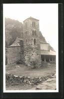 AK Andorra, Ortspartie Mit Kirche - Andorra