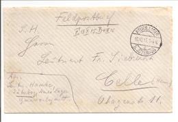 WO1 Feldpost. Neues Lager B.Jüterborg.Zeitdocument! Lesen! Zeppelin - 1. Weltkrieg