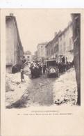 Une Rue A Mont-Louis , En Hiver - France