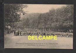 DD / 25 DOUBS / BESANÇON / CONCOURS DE GYMNASTIQUE DE LA F.G.S.P.F. - PRESENTATION DES DRAPEAUX - Besancon