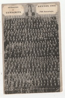 RENNES - RETRAITES DE CONSCRITS 1912 - 480 RETRAITES - 35 - Rennes