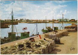 Croix-de-Vie: Le Port - Bateaux De Peche  -  (Vendée, France) - 1967 - Saint Gilles Croix De Vie