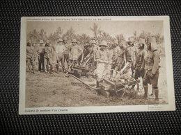 Guerre ( 191 ) Oorlog 1914 - 1918  Armée Leger  Soldats Soldat  Soldaten Soldaat Congo  Kongo - Guerre 1914-18