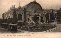 MONACO - MONTE CARLO - LE PALAIS DES BEAUX ARTS - Unclassified