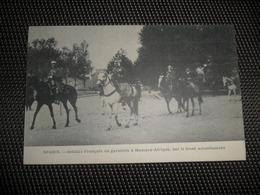 Guerre ( 196 ) Oorlog 1914 - 1918  Armée Leger  Soldats  Soldat  Soldaten Soldaat Spahis : Garnison à Mascara - Afrique - Guerra 1914-18