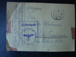 Feldpostbrief Waffen SS, SS Rekrutendepot, SS Truppenübungsplatz Heidelager, Gelaufen 1943 !! - Germany