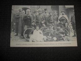 Guerre ( 206 ) Oorlog 1914 - 1918  Armée Leger  Soldats  Soldat  Soldaten Soldaat Spahis : Garnison à Mascara - Afrique - Weltkrieg 1914-18