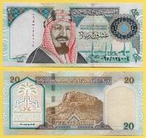 Saudi Arabia 20 Riyals P-27 1999 Commemorative UNC - Arabie Saoudite