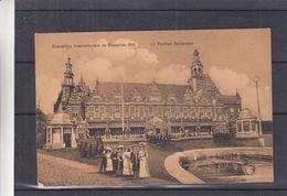 Belgique - Carte Postale De 1910 - Imprimé - Oblit Bruxelles - Avec Flamme De L'exposition  - Pavillion Hollandais - Weltausstellungen
