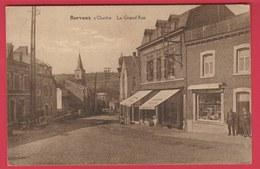 Barvaux S / Ourthe - La Grand'Rue ... Magasins - 1928 ( Voir Verso ) - Durbuy