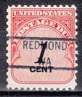 USA Precancel Vorausentwertung Preo, Locals Washington, Redmond 841 - Vereinigte Staaten