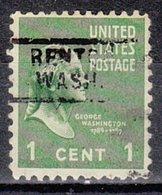 USA Precancel Vorausentwertung Preo, Locals Washington, Renton 729 - Vereinigte Staaten
