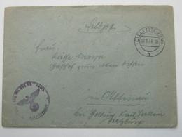 1944 , CILLI , Feldpostbrief Mit Truppensiegel + Inhalt - 1918-1945 1. Republik