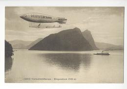 VILLE DE LUCERNE AEROSTIERS AVIATION AEROSTATION BALLON DIRIGEABLE AIRSHIP /FREE SHIPPING R - LU Lucerne