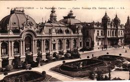 MONACO - MONTE CARLO LA FACADE DU CASINO - Unclassified