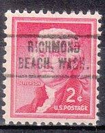 USA Precancel Vorausentwertung Preo, Locals Washington, Richmond Beach 736 - Vereinigte Staaten