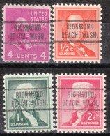 USA Precancel Vorausentwertung Preo, Locals Washington, Richmond Beach 736, 4 Diff. - Vereinigte Staaten