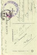 """WWI - C P A En F M """" HOPITAL COMPLEMENTAIRE N°11 St JACQUES  + Photo De L'Hôpital De Besançon - 1. Weltkrieg 1914-1918"""