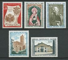 MONACO 1968 . Série N°s 744 à 748 . Neufs ** (MNH) . - Monaco