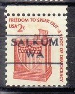 USA Precancel Vorausentwertung Preo, Locals Washington, Salkum 872 - Vereinigte Staaten