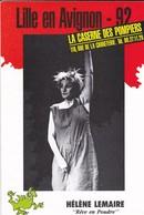 """THEATRE--LILLE EN AVIGNON--92--Hélène LEMAIRE--"""" Rêve En Poudre """"--voir 2 Scans - Théatre & Déguisements"""