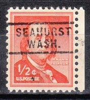 USA Precancel Vorausentwertung Preo, Locals Washington, Seahurst 729 - Vereinigte Staaten