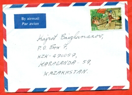Malta 1993. Scouts. The Envelope Is Really Past Mail. Airmail. - Malta
