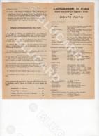 29834 NAPOLI CASTELLAMMARE DI STABIA OPUSCOLO ALBERGHI PENSIONI RISTORANTI CINEMA STAZIONI TERME  1950 - Documenti Storici