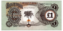 BIAFRA 1 POUND ND(1968) Pick 5a Unc - Banknotes
