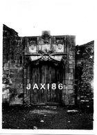 TRÈS RARE Tirage Photographique Ancien Et Original DU PORTAIL PRIEURÉ D'AVAILLES Commune De NOUAILLÉ (VIENNE) 86 - Luoghi