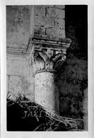 TRÈS RARE Tirage Photographique Ancien Et Original De L'intérieur Du PRIEURÉ D'AVAILLES Commune De NOUAILLÉ (VIENNE) 86 - Luoghi