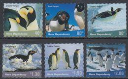 Ross Dependency 2001 Penguins 6v  ** Mnh  (40890A) - Ross Dependency (Nieuw-Zeeland)