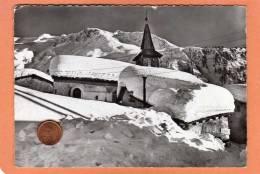 CPSM * * LE TOUR * * L'Eglise Sous La Neige - France
