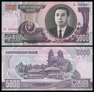 BANK OF KOREA 5000 WON 2006 Pick 46 UNC - Corée Du Sud