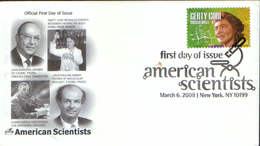 USA - Cover The First Day  2008 - Gerty Cori ,biochemist, Nobel Prize Winner-Revealed Energy Movement Within The Body - Nobel Prize Laureates