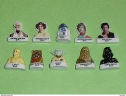 Série De Fèves Complète / Films  : Star Wars - Cartoons