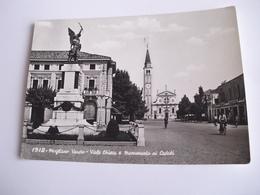 Treviso - Mogliano Veneto Viale Chiesa E Monumento Ai Caduti - Treviso