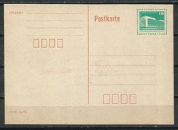 R.D.A. Tarjeta Entero Postal. - [6] República Democrática