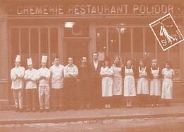 CPM 10x15 .REPRODUCTION  .Crèmerie-Restaurant POLIDOR (41, Rue Monsieur Le Prince PARIS 6°) - Restaurants