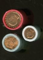 LUXEMBURG - LUXEMBOURG * LETZEBUERG * 1 + 2 + 5 EUROCENT IN ROLLEN 2003 UNC - Luxemburg