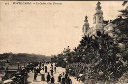 MONACO - MONTE CARLO LE CASINO ET LES TERRASSES - Unclassified