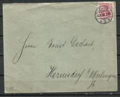 Alemania. 1908. Carta Con Cancelación De Leipzig. - Cartas